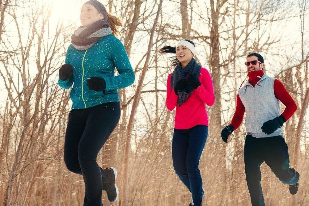 Бег зимой для похудения: рекомендации и самые популярные мифы