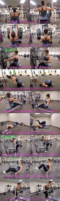 Программа тренировок в тренажерном зале и в домашних условиях