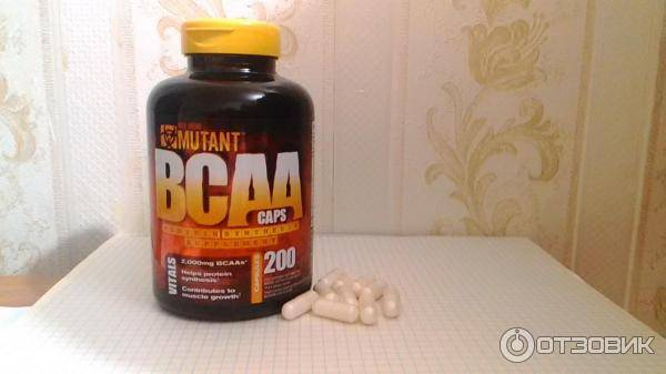 Mutant bcaa 400 капс (mutant)