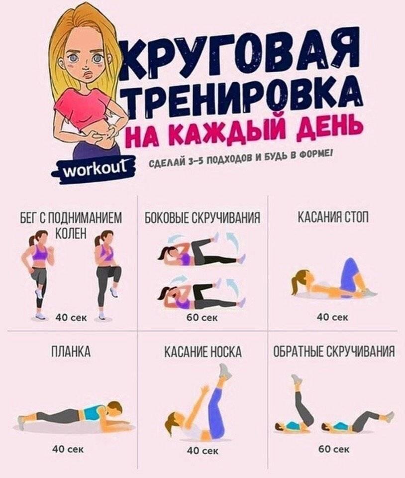 Упражнения для женщин в домашних условиях для живота и боков