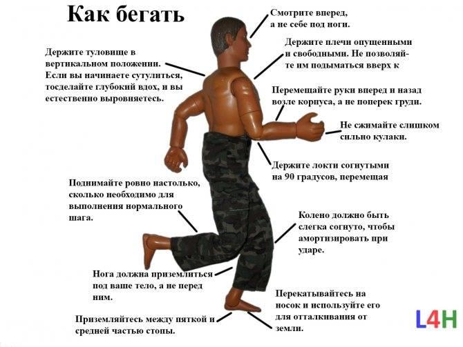Как правильно бегать, техника бега для начинающих