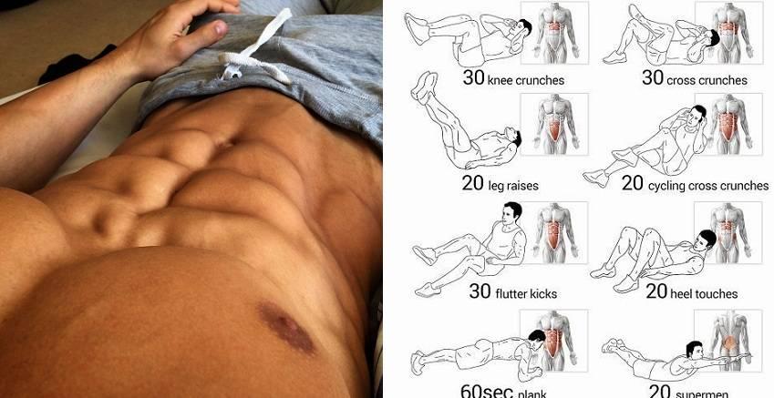 Как правильно накачать мужской пресс в домашних условиях: лучшие упражнения, программа тренировок
