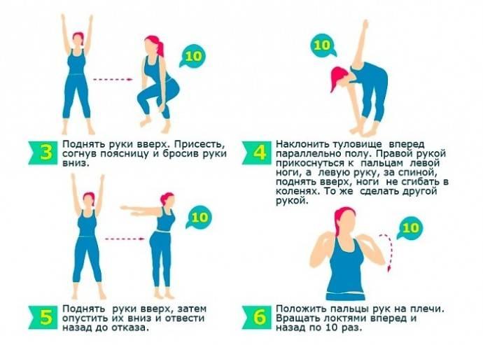 Подбираем эффективные упражнения перед сном для похудения