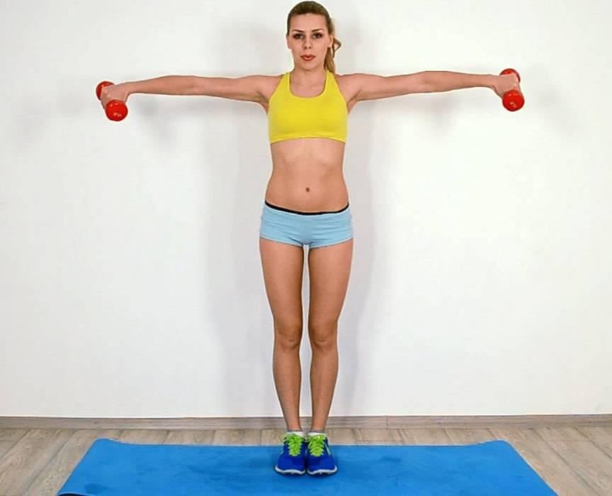 Упражнения для рук для женщин, чтобы не висела кожа