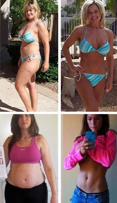 Реальные истории успешного похудения до и после. фото похудевших людей