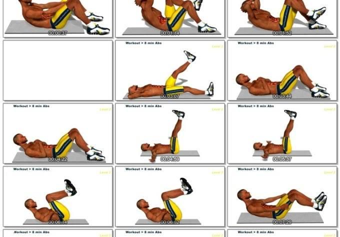 Как накачать пресс до кубиков дома: 7 простых упражнений, которые сделают живот рельефным