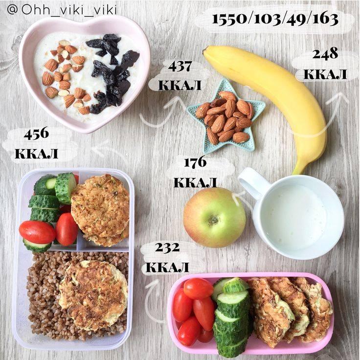 Меню на 1500 ккал в день: рецепты и полезные советы