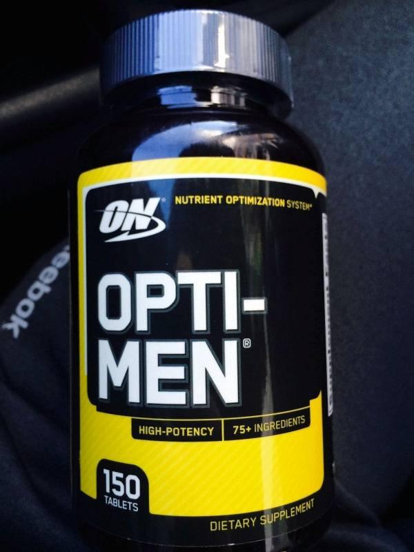Витамины opti men optimum nutrition купить в москве в магазине спортивного питания pitprofi.ru