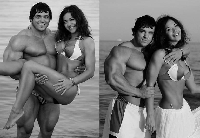 16 звездных пар, где женщина гораздо крупнее своего мужчины