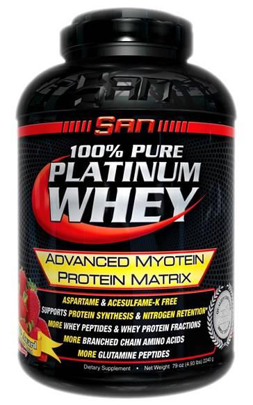 100% Pure Platinum Whey от SAN