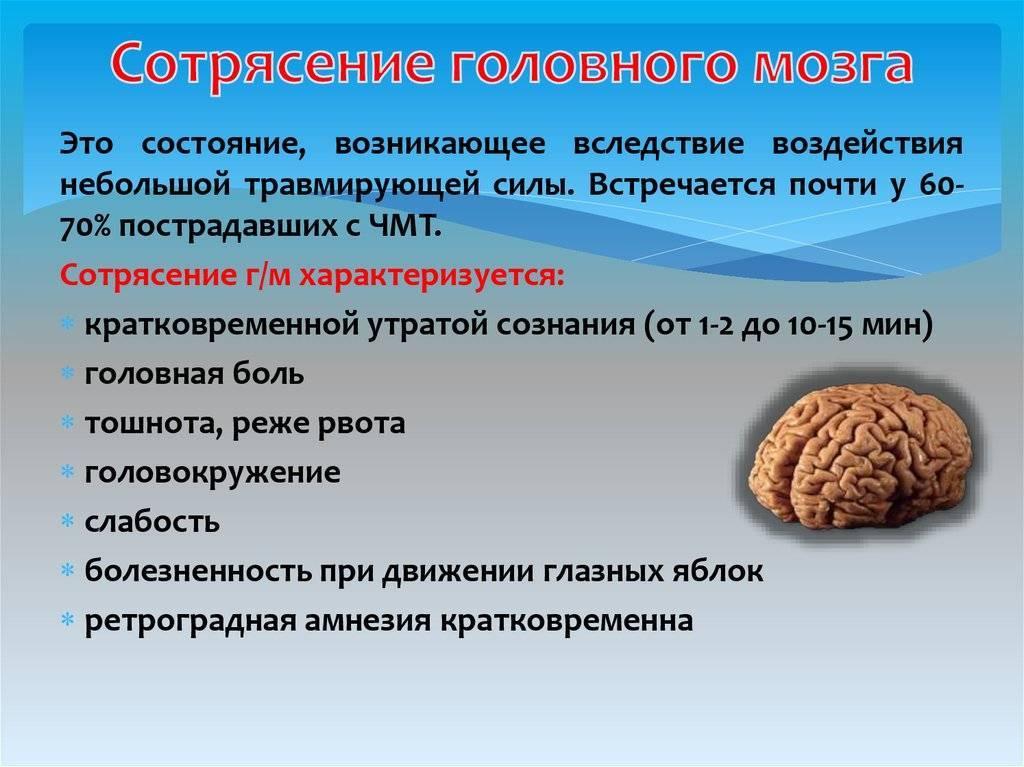 Сотрясение головного мозга: как проявляется, что делать, насколько серьезно