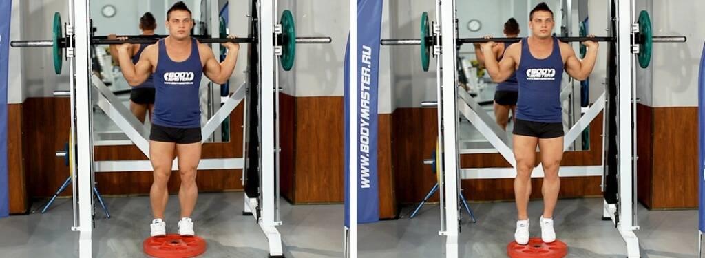 Подъем на носки стоя: описание упражнения, инструкция по выполнению - tony.ru