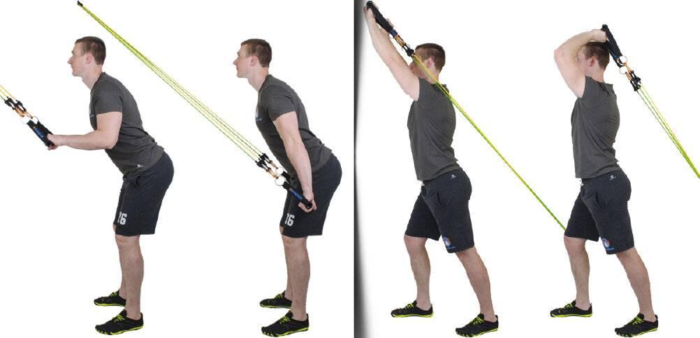Упражнения с эспандером для женщин: занятия в домашних условиях для похудения и тонуса мышц