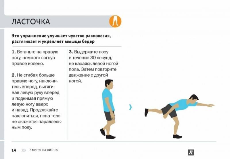 """Польза от упражнения """"ласточка"""", техника выполнения, какие мышцы работают"""
