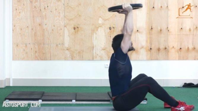 Спортивное упражнение ситап: техника выполнения