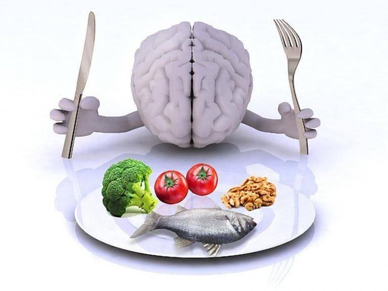 Продукты полезные для мозга