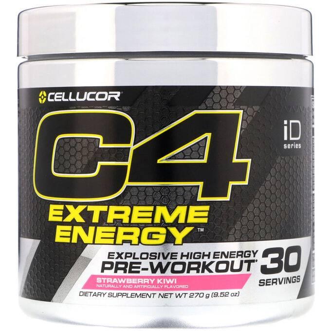 C4 extreme 30 порций cellucor