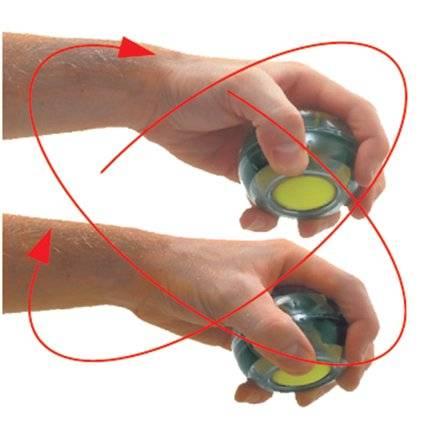 Гироскопический тренажер кистевой powerball