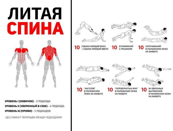 Двадцатка лучших упражнений для похудения в домашних условиях