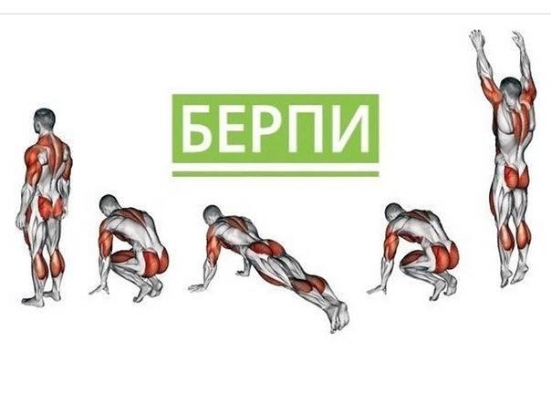 Упражнение бурпи как правильно выполнять?
