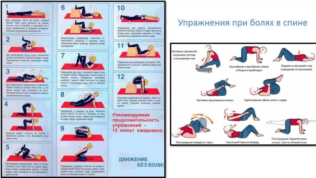 Как накачать пресс если болит спина- рецепт пошаговый с фото