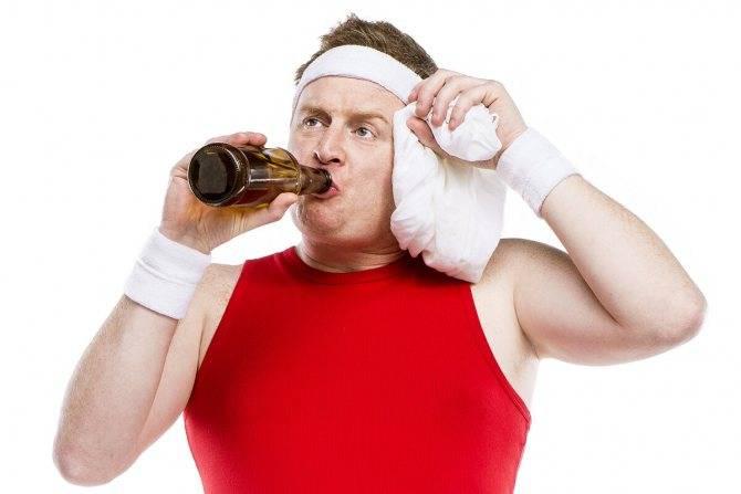 Совместимы ли спорт и алкоголь?