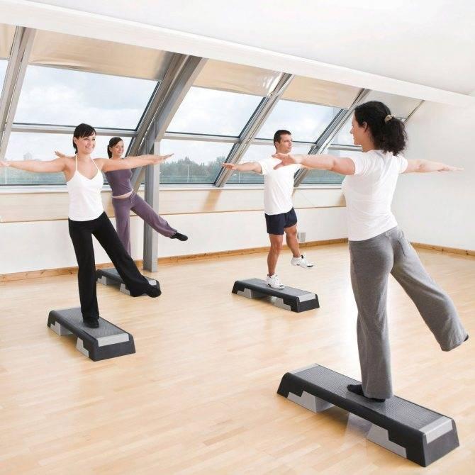 Степ-аэробика — на грани танца и спорта: как правильно заниматься для похудения?