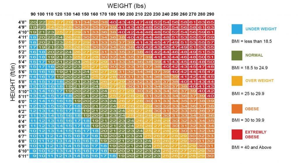 Идеальный вес для женщин и мужчин: как определить с помощью медицинских формул: 5 методов