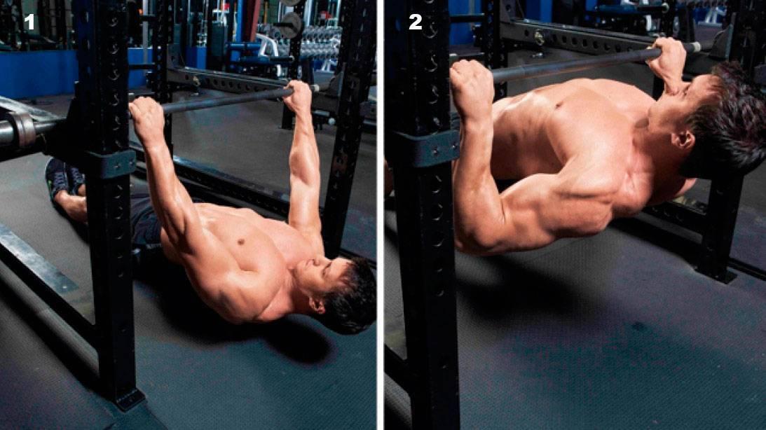 Тяга рейдера: техника выполнения у стены для грудных мышц