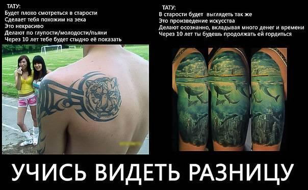 Отношение к татуировкам разных религий: буддизм, ислам, христианство