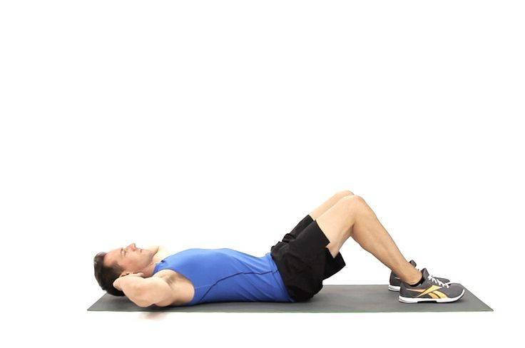 Как правильно выполнять упражнение скручивание для пресса на полу или скамье