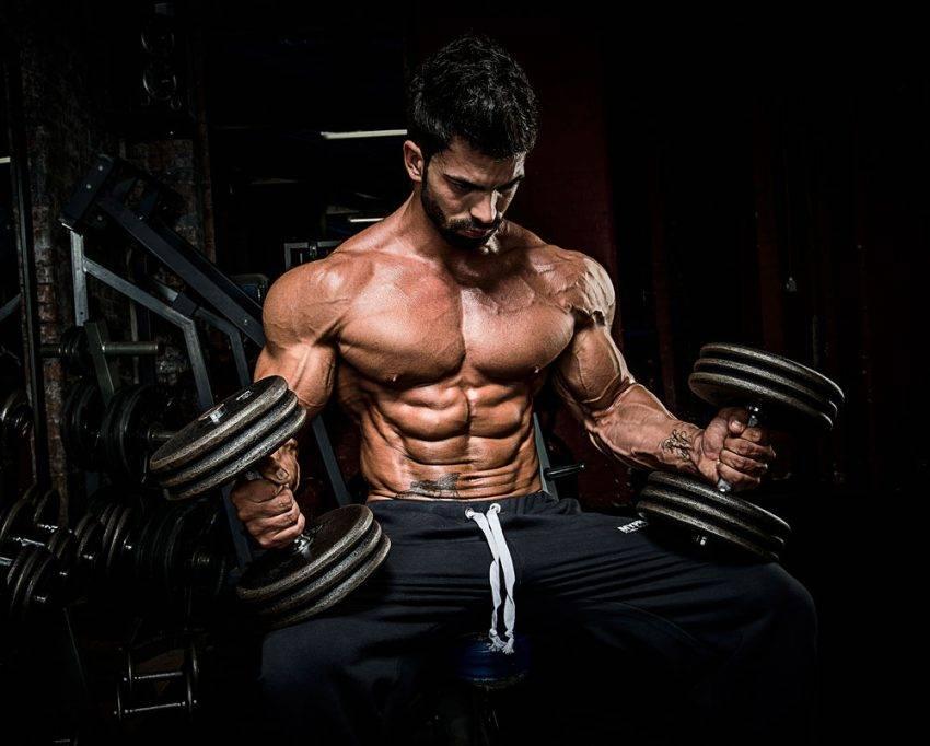 Сержи констанс тренировка плеч