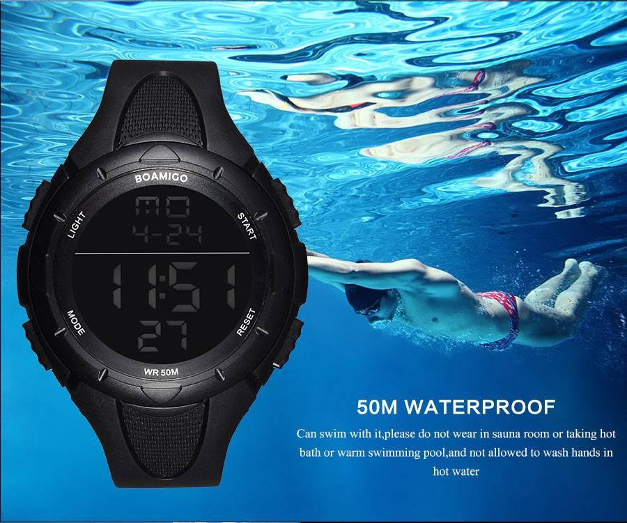 Как выбрать часы для плавания в бассейне?