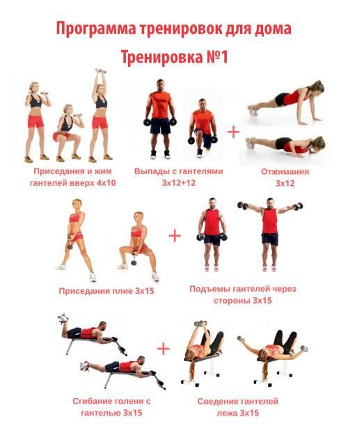 Лучшие программы кроссфит тренировок в домашних условиях