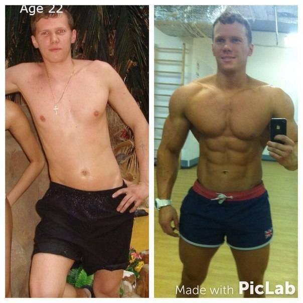 Возможно ли накачать мышцы без спортивного питания