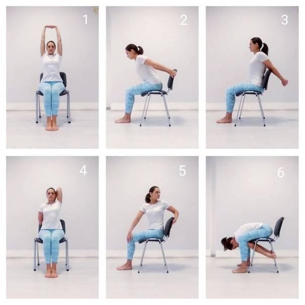 Какие упражнения можно делать в офисе в перерывах между работой?