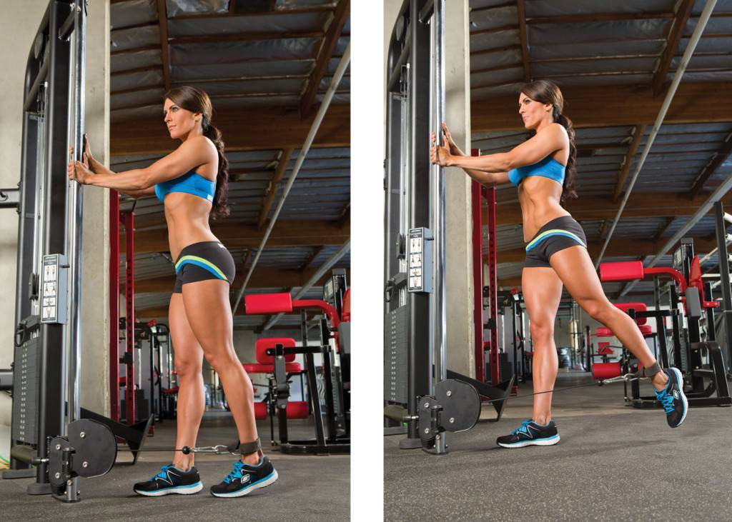 Тренировка ног и ягодиц для девушки в зале   musclefit