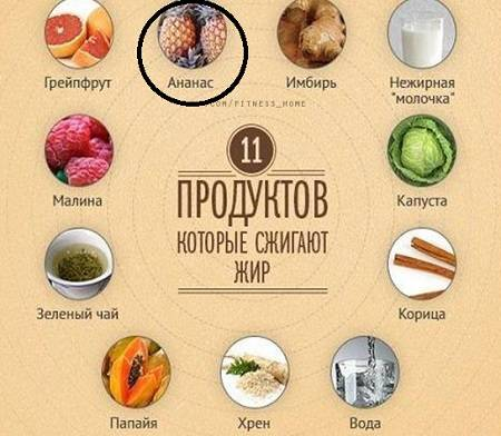 Ананас для похудения: польза, рецепт с водкой, экстракт, чай, таблетки, настойка, капсулы, консервированный