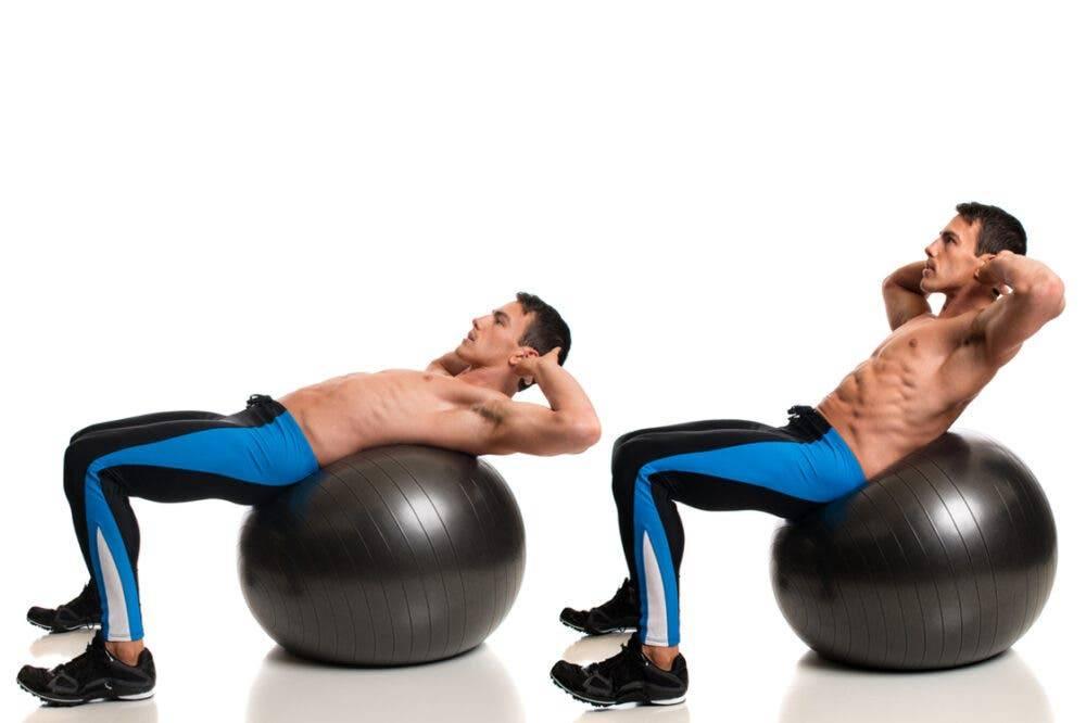 Лучшие упражнения с фитболом для тренировки мышц всего тела в домашних условиях