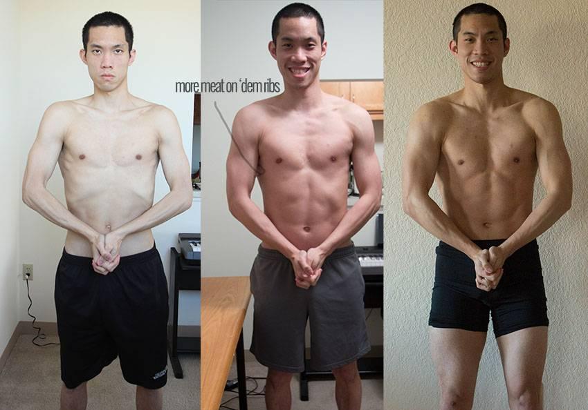 Как набрать массу эктоморфу? программа тренировок и питания для набора мышечной массы