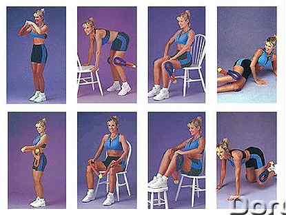 Эспандер восьмерка: комплекс упражнений с тренажером для женщин и мужчин