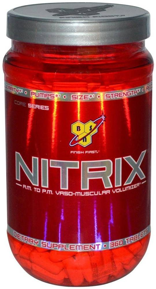 Nitrix 2.0 от bsn - спортивное питание на dailyfit