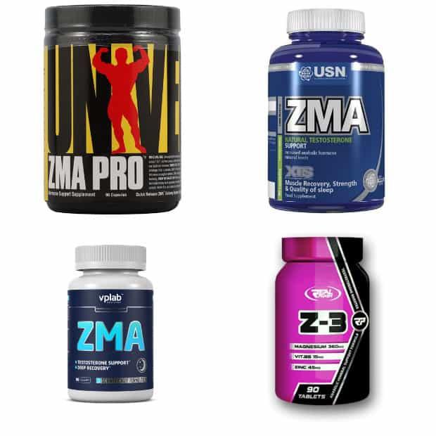 Спортивная добавка zma – комплекс необходимых веществ для роста мышц