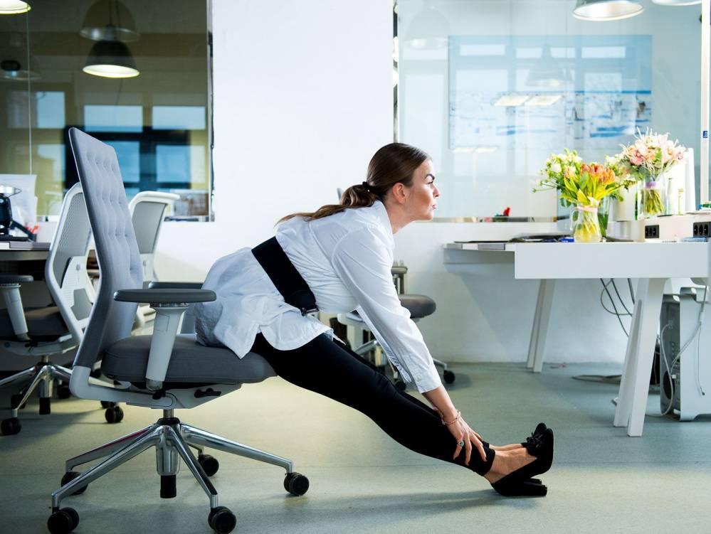 Упражнения для работы: комплекс фитнес упражнений в офисе