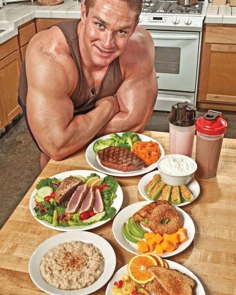 Диеты в бодибилдинге   диеты   питание