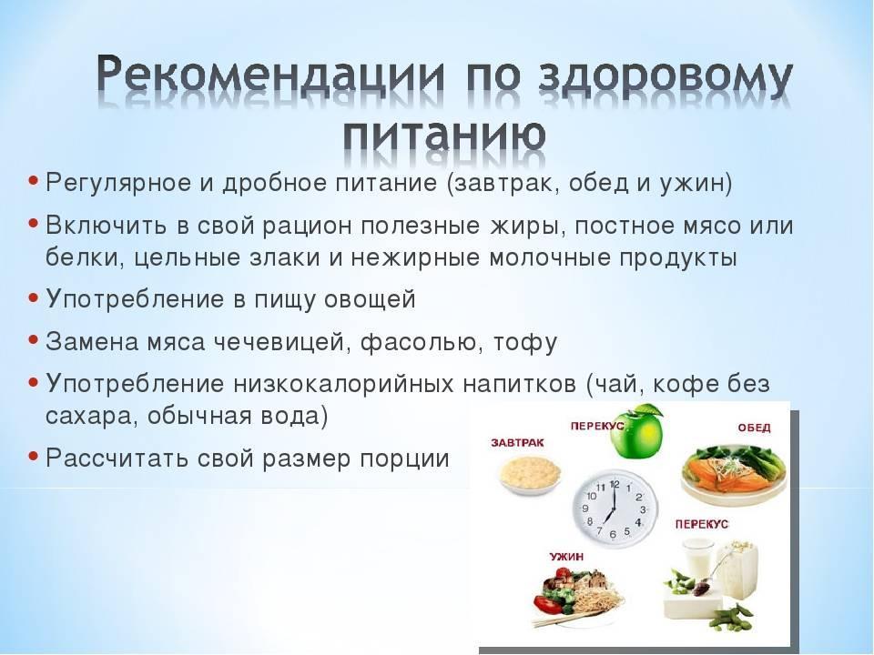 Суть дробного питания