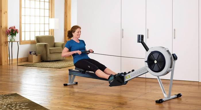 Гребной тренажер: какие мышцы работают, правильная техника