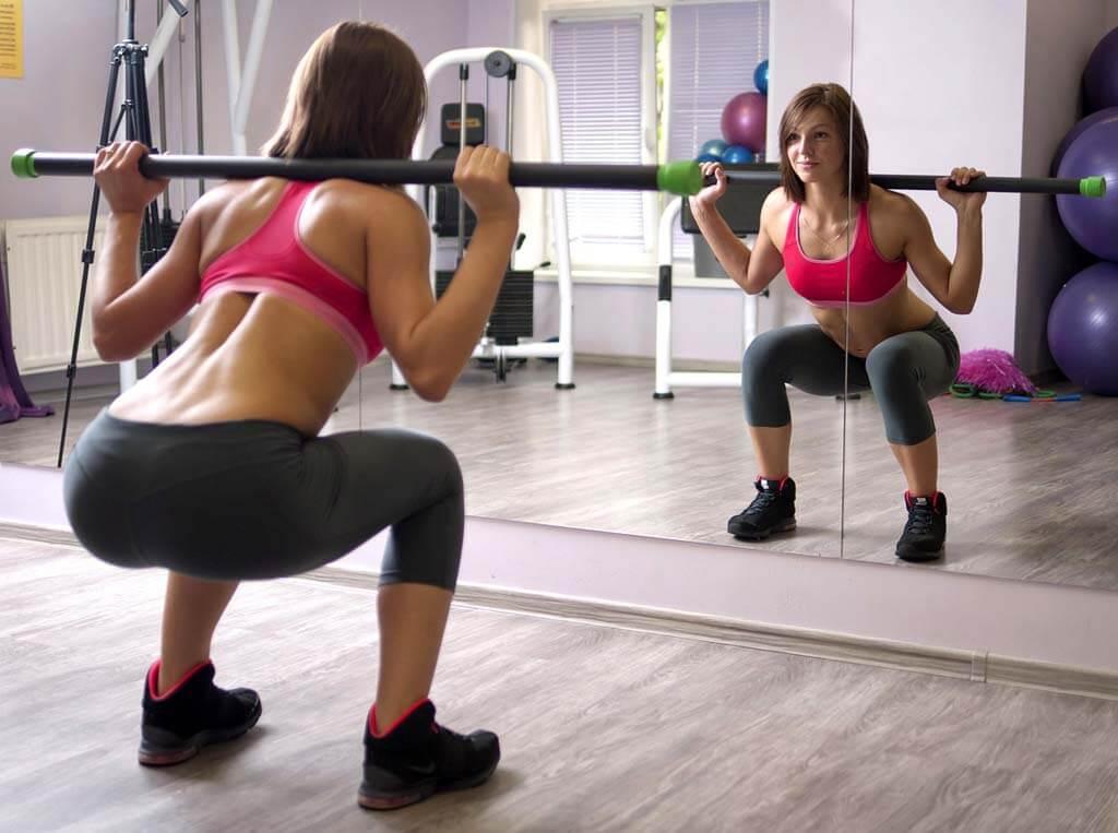 За сколько времени можно накачать попу девушке в домашних условиях, чтобы был виден результат: сроки тренировок