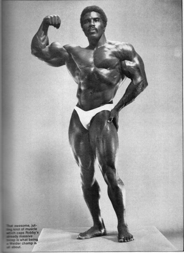 Robby robinson - greatest physiques
