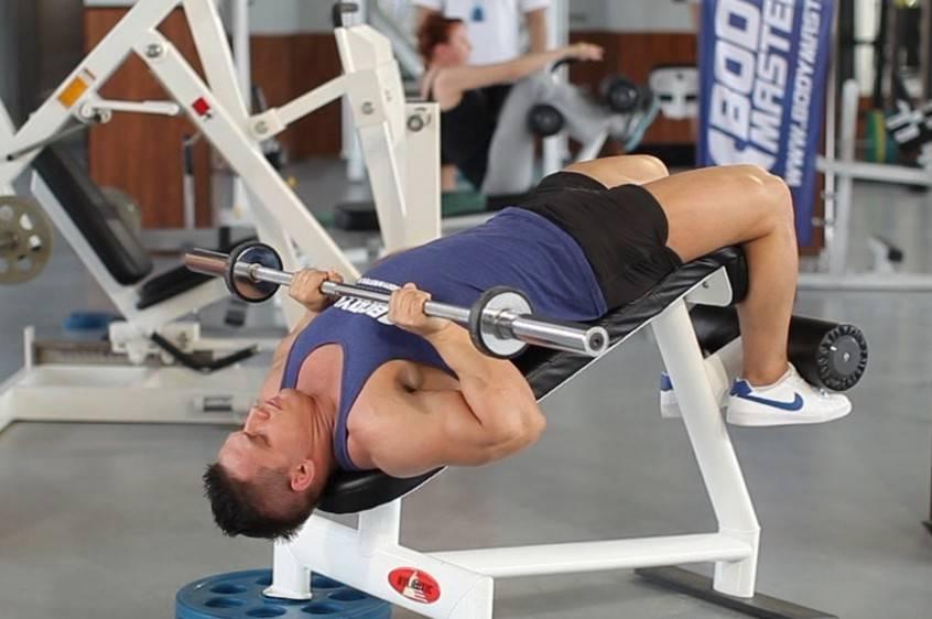 Жим гантелей лежа на скамье: упражнение, особенности и рекомендации